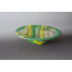 Misa gnieciona - Smugi Zielone - średnica 25 cm