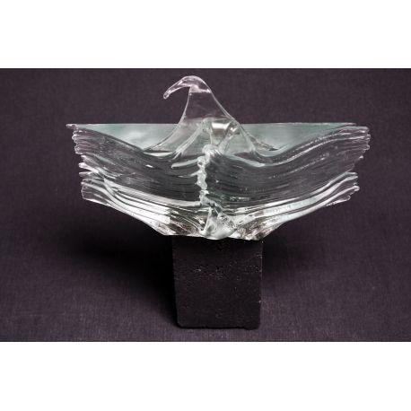 Rzeźba szkło+beton mini