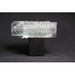 Rzeźba szkło+beton podwójna