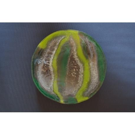 Misa sfera - Smugi zielone - średnica 44 cm