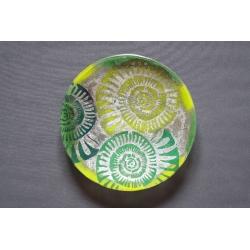 Patera Amonit Zielony - 32 cm