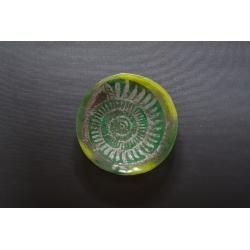 Patera Amonit Zielony - 23 cm