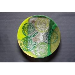 Patera Amonit Zielony - 54 cm