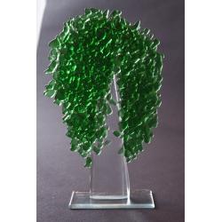 Zielone drzewko - granulat duży - wysokość 31 cm