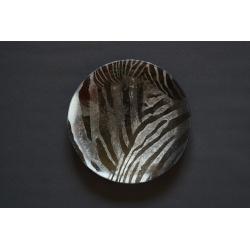 Patera Zebra - średnica 32 cm