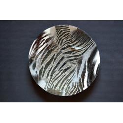Patera Zebra - średnica 54 cm