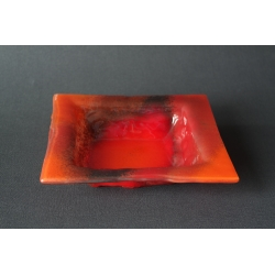 Square bowl Red - 20x20 cm