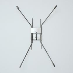 Uchwyt ze stali nierdzewnej do talerzy o średnicy 43 cm