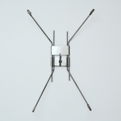 Uchwyt ze stali nierdzewnej do talerzy o średnicy 37 cm