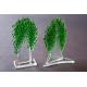 Statuetka zielone drzewko granulat średni 16 cm