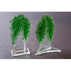Statuette Green Tree –  medium granulate 16 cm