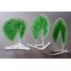Statuetka zielone drzewko granulat 15 cm