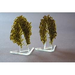 Statuetka oliwkowe drzewko granulat mały 14 cm