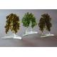 Statuetka zielone drzewko granulat gruby 13 cm