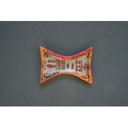 Mały wcięty talerzyk Afryka - 24x17 cm