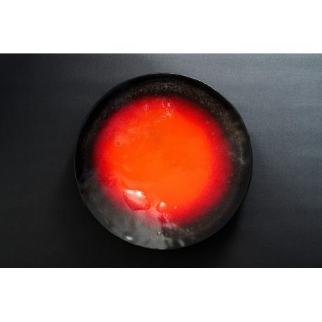 Patera Wulkan Czarny średnica 37 cm