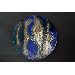 Patera Smugi Niebieskie  - 54 cm