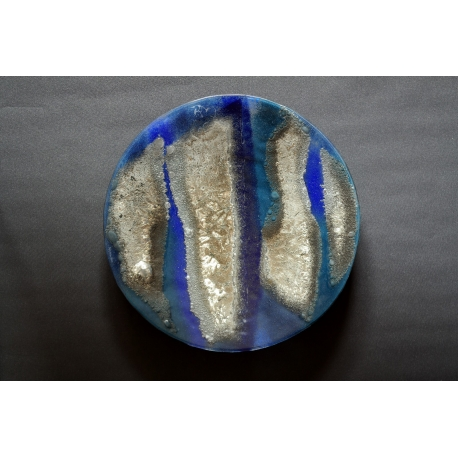 Patera Smugi Niebieskie - 43 cm