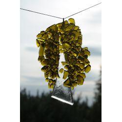Drzewko wiszące granulat gruby wys. 16cm