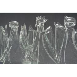 Anioł bezbarwny warstwowy wys. 13-14cm