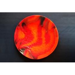 Patera Smugi Czerwone o średnicy  54 cm