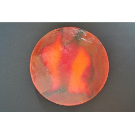 Patera Smugi Czerwone o średnicy 37 cm