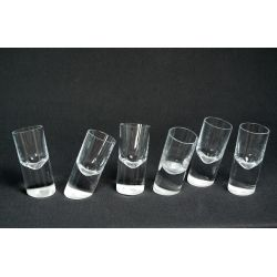 Crooked Shot Glass 11 cm