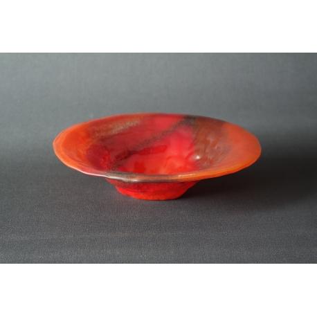 Misa Gnieciona Smugi Czerwone o średnicy 25 cm